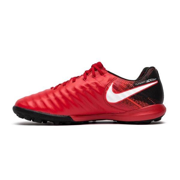 free shipping 3673f 47516 Nike TiempoX Proximo II TF Fire - Rød Hvit Sort 1
