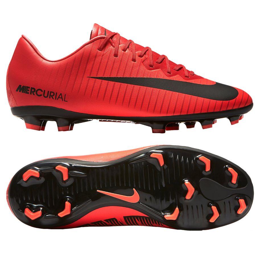 Nike Mercurial Vapor Rød Græs (FG) Mænd