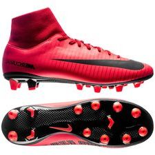 Nike Mercurial Victory VI DF AG-PRO Fire - Rood/Zwart