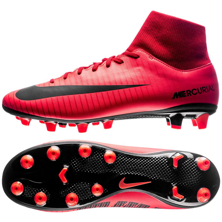 cheap for discount 01551 23182 nike mercurial victory vi df ag-pro fire - roodzwart - voetbalschoenen ...