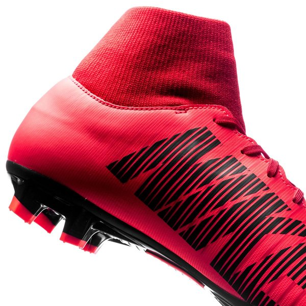 ... nike mercurial victory vi df fg fire - university red black - football  boots 9122903c69