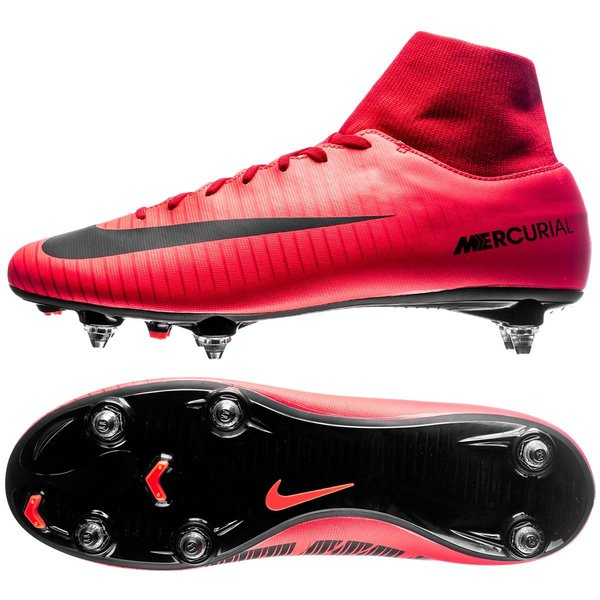 sélection premium 3a4ba 41118 Nike Mercurial Victory VI DF SG Fire - University Red/Black ...