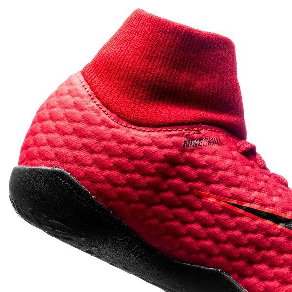 Nike Hypervenomx Phelon 3 Feu Df Ic - Enfants Rouge / Noir cnvNS