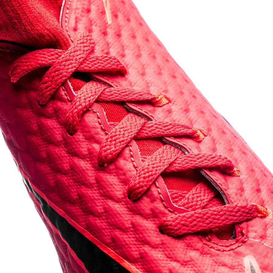 new style 9f35c 8aa4c Nike HypervenomX Phelon 3 DF IC Fire - Röd Svart Barn   www.unisportstore.se