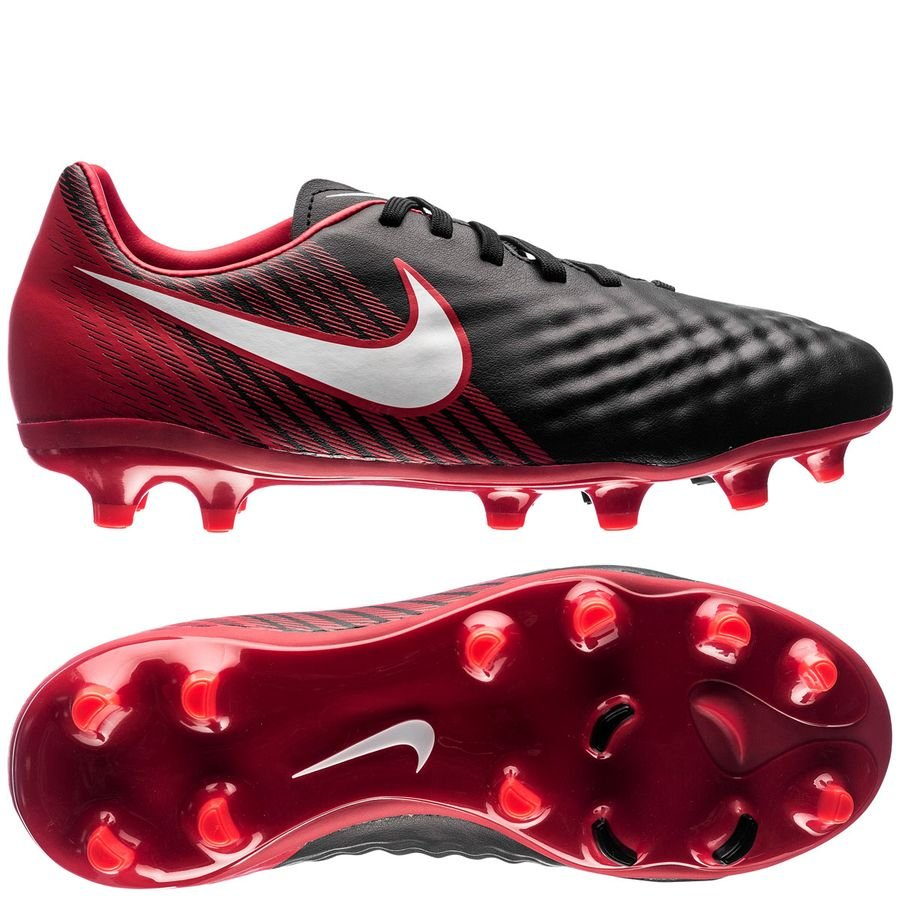 a92088164 ... nike magista onda ii fg fire black white university red kids football