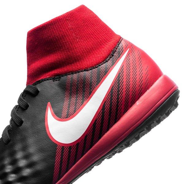 sports shoes dd716 490be ... nike magistax onda ii df tf fire - svart vit röd barn - fotbollsskor ...