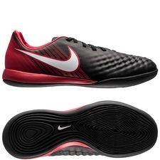Nike MagistaX Onda II IC Fire - Zwart/Wit/Rood Kinderen