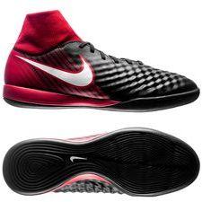 Nike MagistaX Onda II DF IC Fire - Svart/Vit/Röd