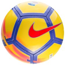 nike football skills hi-vis serie a - yellow/purple/crimson - footballs