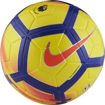 Nike Football Ordem V Hi-Vis Premier League - Yellow/Purple/Crimson