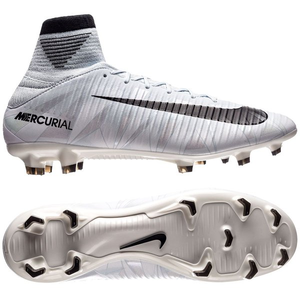 Nike Mercurial Veloce III DF CR7 Chapter 5: Cut to brilliance FG BlauwZwartWit