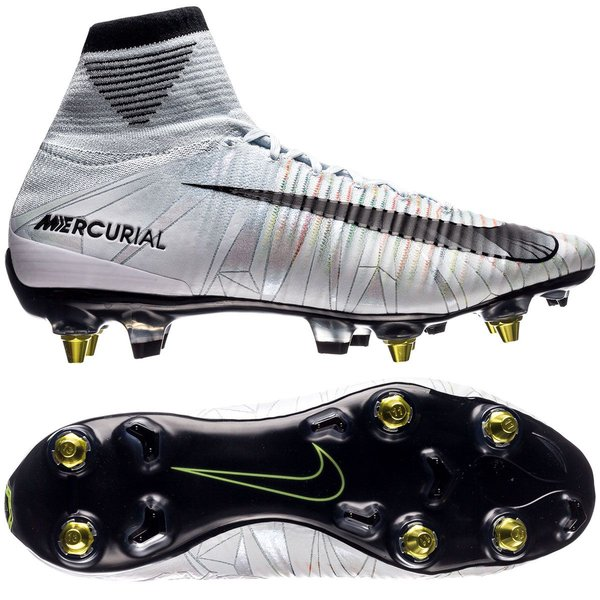 Nike Mercurial Superfly V CR7 Chapter 5: Cut to brilliance SG PRO Anti Clog BlauwZwartWit
