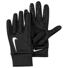 nike player gloves hyperwarm field player - black/white kids - player gloves