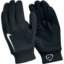 Nike Player Gloves Hyperwarm Field Player - Black/White Kids