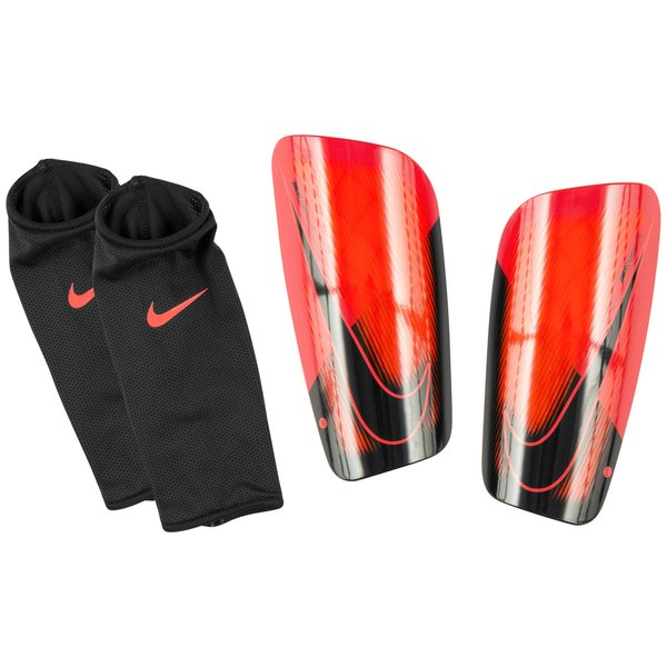 nike prot ge tibias mercurial lite fire rouge noir. Black Bedroom Furniture Sets. Home Design Ideas