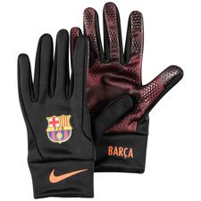 Barcelona Spelarhandskar Stadium 3rd - Svart/Bordeaux/Orange