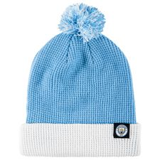 manchester city beanie - field blue/white - hats