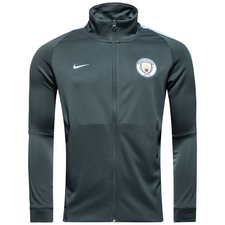 Image of   Manchester City Track Top NSW Authentic - Grøn/Blå
