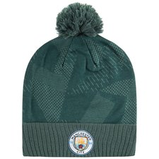 manchester city beanie seasonal - outdoor green/field blue - hats