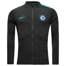 chelsea træningsjakke dry strike - grå/blå - træningsjakke