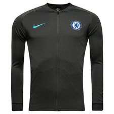 chelsea training shirt dry squad track top knitted - anthracite/omega blue - training jackets