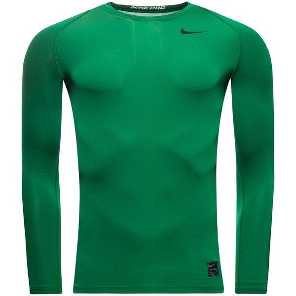 Nike Pro Cool Compression Crew LÄ GrönSvart