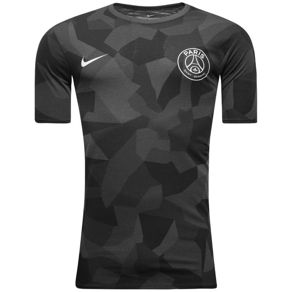 paris saint germain t shirt match noir. Black Bedroom Furniture Sets. Home Design Ideas