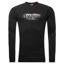 Paris Saint-Germain Sweatshirt NSW Crew FT Authentic - Svart/Grå