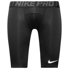 nike pro compression tights long - black/anthracite/white - baselayer