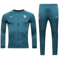 Atletico Madrid Trainingspak Dry Squad Knit - Blauw/Roze Kinderen