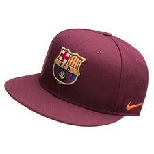Image of   Barcelona Kasket Snapback True - Bordeaux/Orange