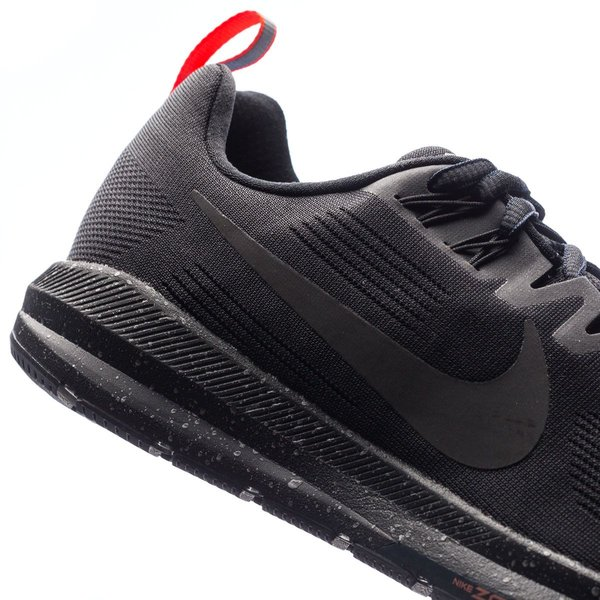 brand new 8096d 3e54f Nike Running Shoe Air Zoom Structure 21 Shield - Black ...