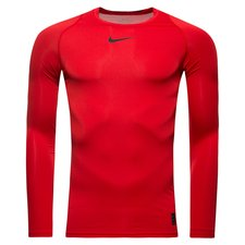Image of   Nike Pro Compression L/Æ - Rød/Sort
