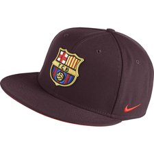 Image of   Barcelona Kasket Snapback True - Bordeaux/Orange Børn