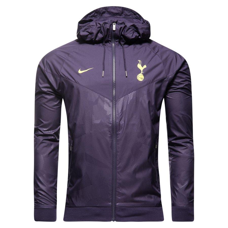 a46aaec2aa tottenham windrunner woven authentic - purple dynasty opti yellow - jackets  ...