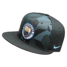 Image of   Manchester City Kasket Snapback True - Grøn/Sort