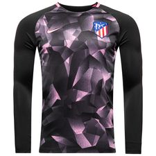 Image of   Atletico Madrid Træningstrøje Dry Squad Crew - Sort/Pink