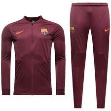Barcelona Träningsoverall Dry Squad Knit - Bordeaux/Orange