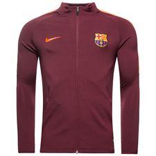 barcelona træningsjakke dry strike knit - bordeaux/orange - træningsjakke
