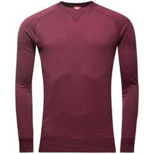 barcelona sweatshirt nsw crew ft authentic - bordeaux/orange - sweatshirts