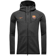 Gris Fleece Windrunner Tech Barcelone À Fc Fz Veste Capuche Nsw vFRqz