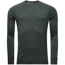 manchester city sweatshirt nsw crew ft authentic - outdoor green/field blue - sweatshirts