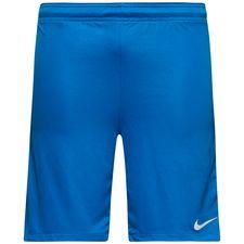 nike shorts dry squad ice - blå/vit barn - träningsshorts