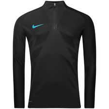 Nike Trainingsshirt AeroSwift Strike Drill - Schwarz/Blau