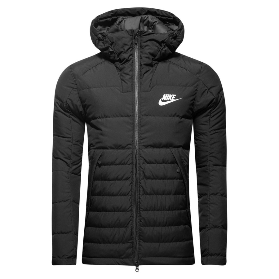 Nike Nsw Winter Jacket Black White Www Unisportstore Com