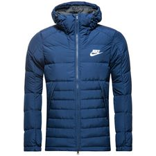 nike winter jacket nsw - binary blue/black/white - jackets