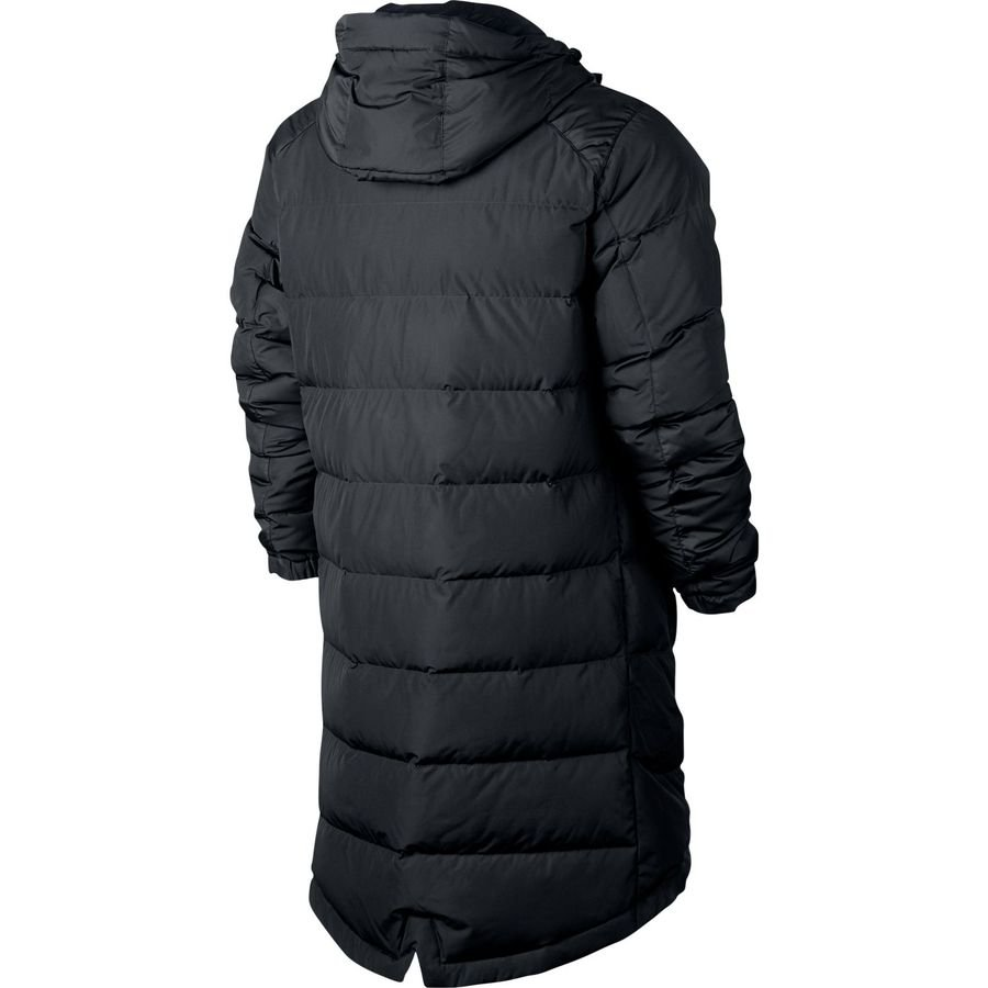 9de1c3a6b10d nike nsw down jacket parka - black white - jackets