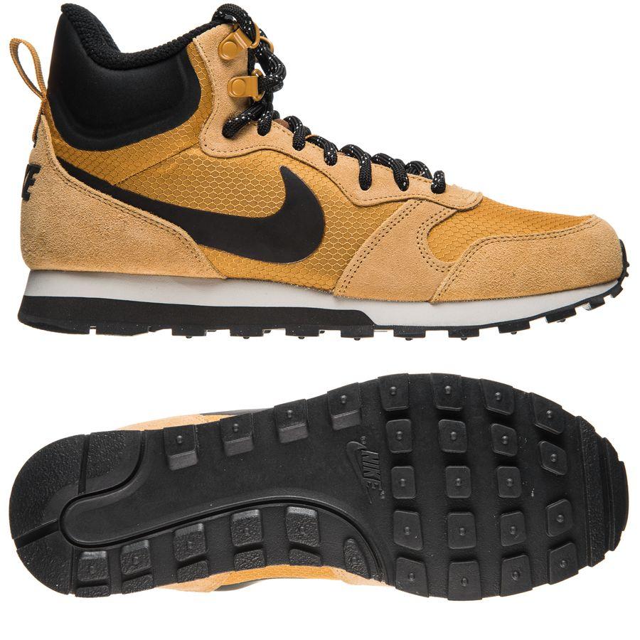 pretty nice 35cec 4595e nike md runner 2 mid premium - brun svart grå - sneakers ...