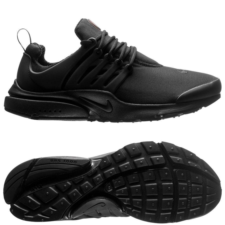 nike air presto essential black white