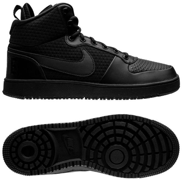 a1d015ef5db Nike Court Borough Mid Winter - Black   www.unisportstore.com